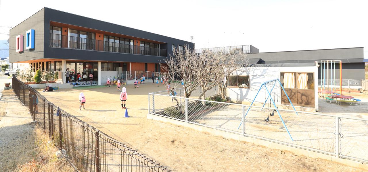 了専寺 白菊幼稚園園庭